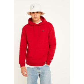 Tommy Jeans Classic Red Hoodie, Red