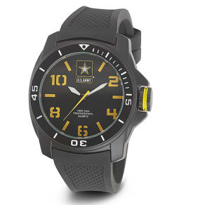 Wrist Armor U.S. Army C25 Watch - Black/Yellow