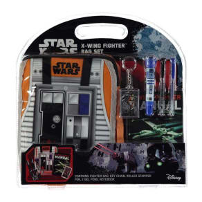Disney Star Wars Rogue X Wing Fighter Bag Set