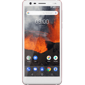 Nokia 3.1 (16gb White) at Ps149.00 on No Contract.