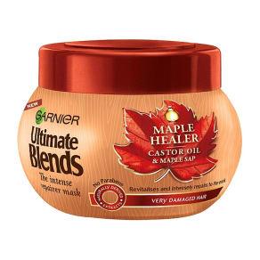 Garnier Ultimate Blends Maple & Castor Oil Hair Mask Treatment 300ml