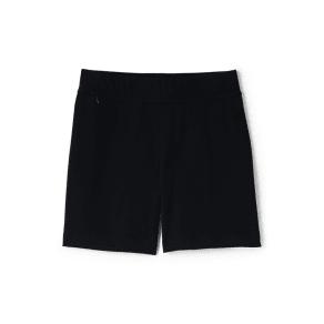 Lands' End - Black Womens Starfish Jersey Shorts