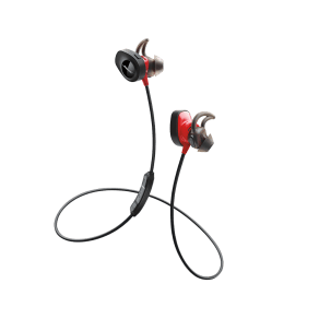 Bose Soundsport Pulse Wireless Headphones Power Red