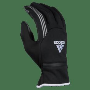 Womens Adidas Voyager Run Gloves - Black/White