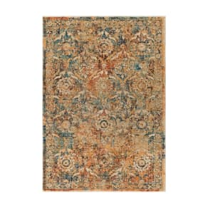 Surya Home Tharunaya Area Rug, Size Swatch - Orange