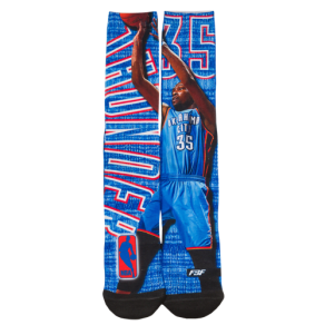 Kevin Durant for Bare Feet Nba Heathered Player Socks - Mens - Multi