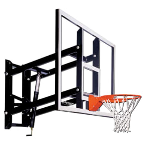 Goalsetter Gs72 72 Wall-Mounted Acrylic Basketball Hoop With Hd Breakaway Rim, Multi-Colored
