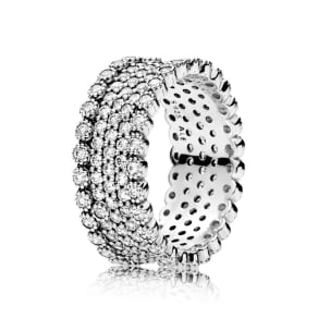 Pandora Lavish Sparkle Ring - Sterling Silver / Cubic Zirconia