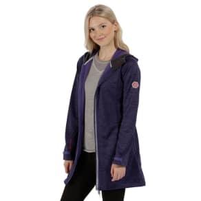 Regatta Purple 'Lily Wood' Softshell Jacket