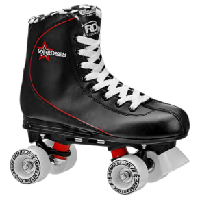 Roller Derby Men's Roller Star Quad Skates - Black 6, Black Red