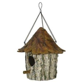 River's Edge Products Oak & Tree Leaf Birdhouse 615