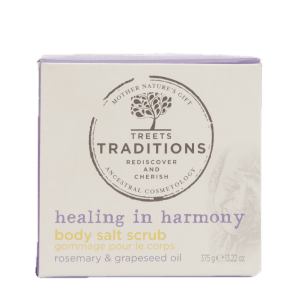 Treets Traditions Healing in Harmony Body Salt Scrub 375g - 375g