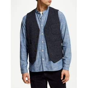 John Lewis & Co. Moons Wool Waistcoat