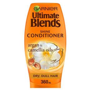 Garnier Ultimate Blends Argan Oil Shiny Hair Conditioner 360ml