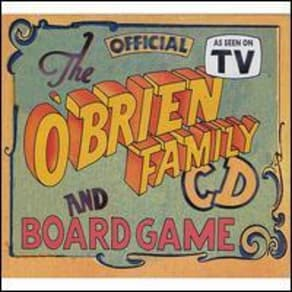 Official O'Brien Family Cd and Board Game by O'Brien Family Band