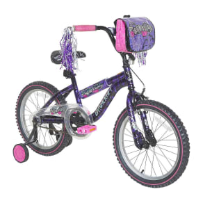 Dynacraft Mysterious 18 Kids' Bike - Purple/Pink/Black