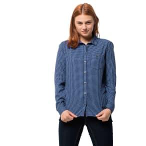Jack Wolfskin Shirt Alin Shirt Xxl Blue