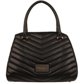 Marc New York Quilted Chevron Faux-Leather Satchel