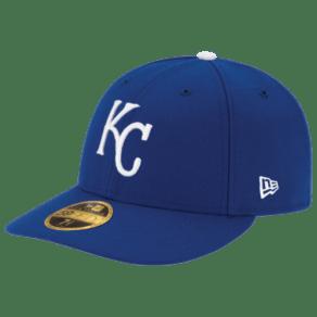 Kansas City Royals New Era Mlb 59fifty Authentic Lp Cap - Mens - Royal