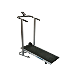 Phoenix 98516 Easy Up Manual Treadmill, Black/Silver