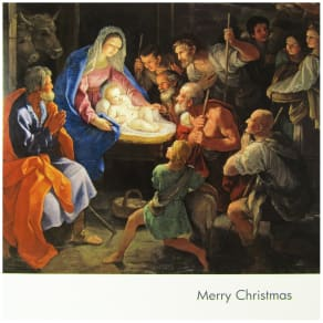 National Gallery Reni's Nativity Christmas Card