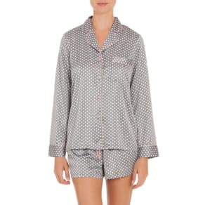 Women's in Bloom by Jonquil Short Pajamas, Size X-Small - Grey