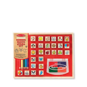 Melissa & Doug Favorite Objects Stamp Set