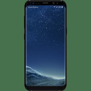Samsung Galaxy S8 64gb in Midnight Black