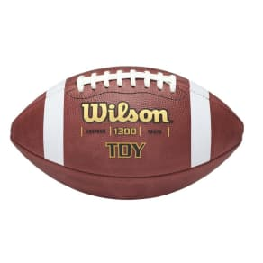 Wilson Ayf Tdy Traditional Youth Game Football, Brown