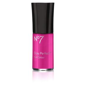 No7 Stay Perfect Nail Colour 10ml Hot Lava