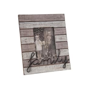 Foreside Family Picture Frame, Size One Size - Brown