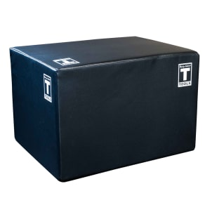 Body-Solid Bstspbox 3 Way Soft Plyo Box, Black