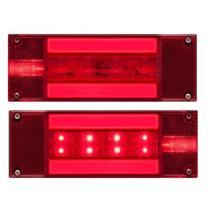 Optronics Led Glolight Low Profile 28/34-Diode Trlr Lght Kt, Red
