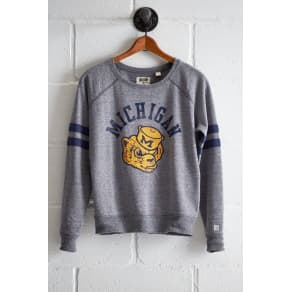 Tailgate Women's Michigan Crewneck Sweatshirt