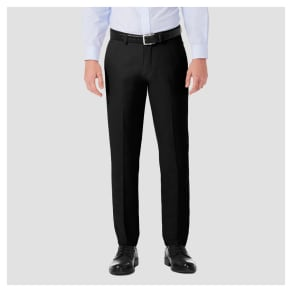 Haggar H26$? Men's Performance 4 Way Stretch Slim Fit Trouser Pants - Black 30x32