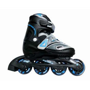 Chicago Blazer Boy's Jr Adjustable in Line Skate - Black/ Gray (1-4), Variation Parent