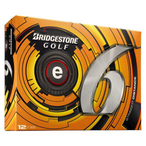 Bridgestone Golf E6 Straight Distance Golf Balls - 12pk, White