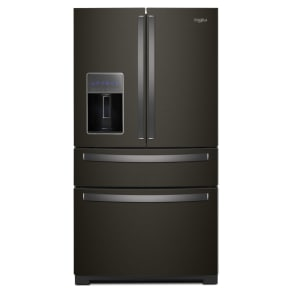 Whirlpool Wrx986sihv 26 Cu. Ft. 4-Door Refrigerator With Exterior Drawer - Fingerprint Resistant Black Stainless