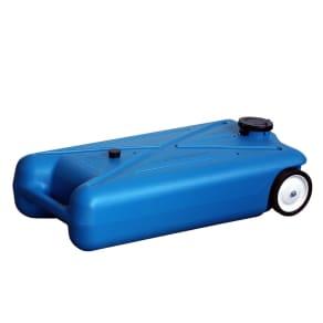 Barker Mfg 10 Gallon Tote-Along Drain Water Tank, Blue