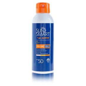 Sun Smart Active Sport Aerosol Spray Spf50 150ml