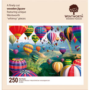 Wentworth Wooden Puzzles Sky Roads Jigsaw Puzzle, 250 Pieces