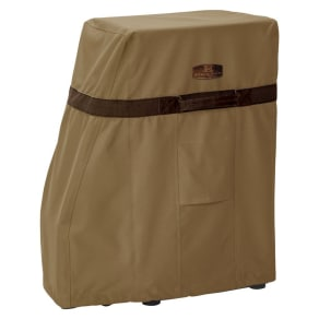 Hickory Square Smoker Cover Tan - Medium, Brown
