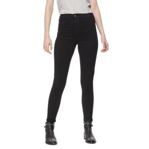 Red Herring Black 'Heidi' High Waisted Skinny Jeans
