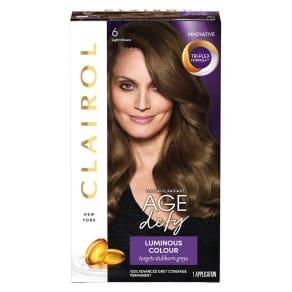 Nice N Easy Age Defy Hair Dye 6 Light Brown 177ml