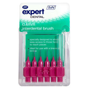 Boots Expert Tepe 0.4mm Interdental Brush 6s