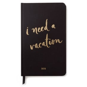 Kate Spade New York 12-Month Agenda - Black