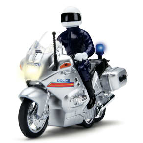 Driving Force Police Motorcycle
