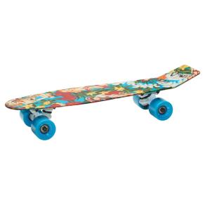 Aluminati 24 Skateboard - Woody, Multi-Colored