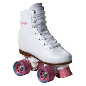 Girls' Chicago Rink Roller Skates - Youth (J12), White