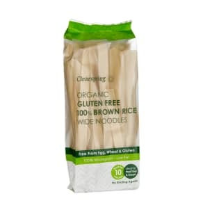 Clearspring Gluten Free 100% Brown Rice Wide Noodles 200g